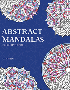 Abstract Mandalas Coloring Book by L.J. Knight