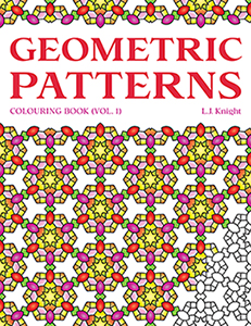 Geometric Patterns Coloring Book by L.J. Knight
