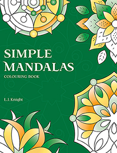 Simple Mandalas Coloring Book by L.J. Knight
